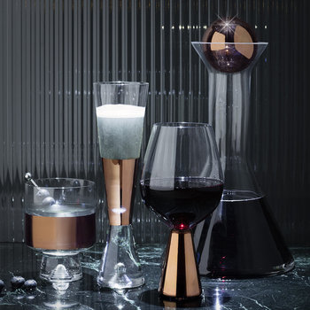 Tank Champagne Glasses - Set of 2