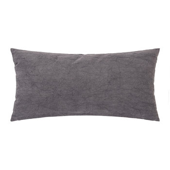 Grey 'Love' Cushion - 60x30cm