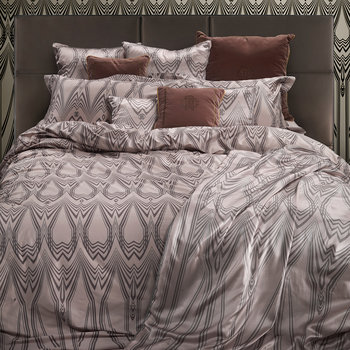 Deco Duvet Set - Rosa