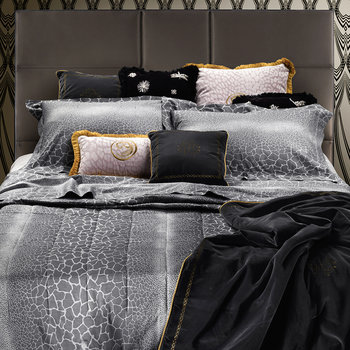 Jerapah Bed Set - Nero