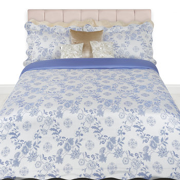 Cina Jacquard Duvet Set - Super King