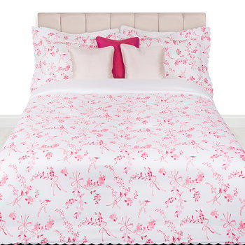 Vivaio Print Duvet Set - Cyclamen - Super King