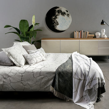 Crackle Duvet Set - Grey