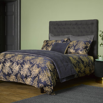 Charleston Duvet Set - Ink