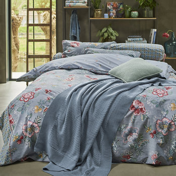 Berry Bird Duvet Set - Blue