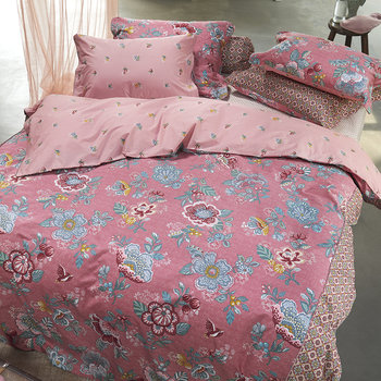 Berry Bird Duvet Set - Pink