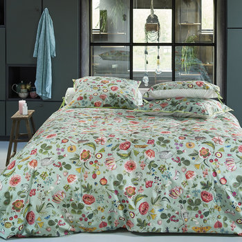 Woodsy Duvet Set - Blue/Green