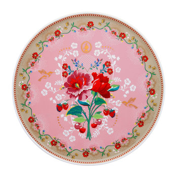Floral 2.0 Rose Cake Stand - Pink