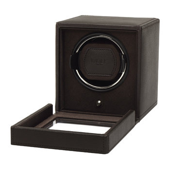 Cub Watch Winder with Cover - Brown