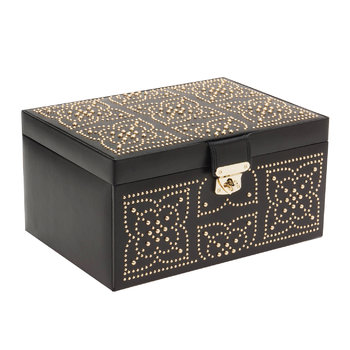 Marrakesh Medium Jewelry Box - Black
