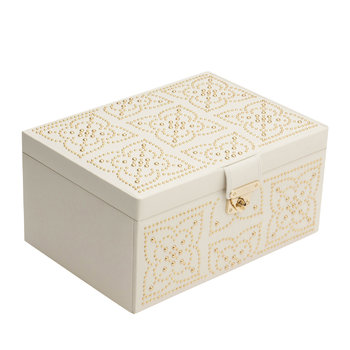 Marrakesh Medium Jewellery Box - Cream