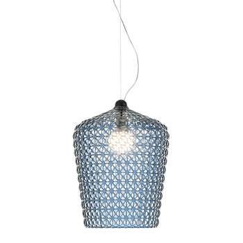 Kabuki Ceiling Lamp - Light Blue