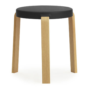 Tap Stool - Oak/Black