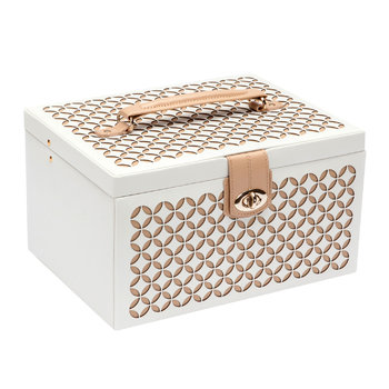 Chloe Cream Jewellery Box
