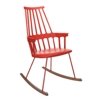 Comback Rocking Chair - Orangy Red