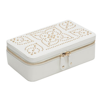 Marrakesh Jewelry Zip Case - Cream