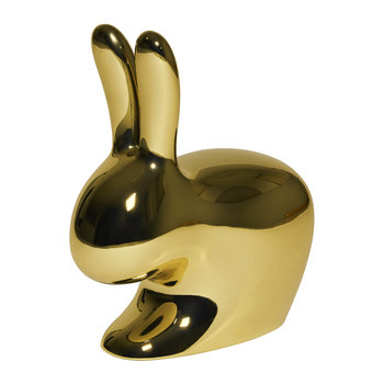 Rabbit Chair - Metallic Gold