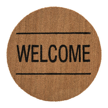 "Doormat - ""Welcome"""