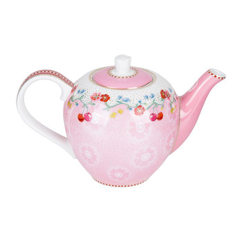 Floral 2.0 Cherry Teapot - Pink