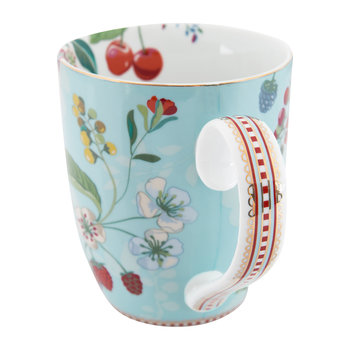 Hummingbird Mug - Blue