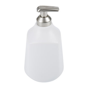 Corsa Soap Pump - White