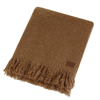 Luxe Mohair Throw - Chestnut