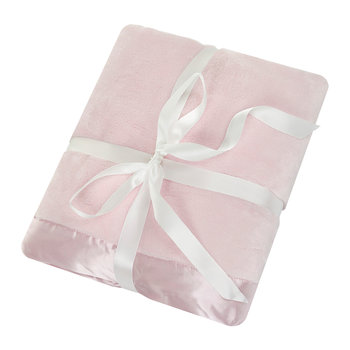 Baby Receiving Blanket - Baby Pink
