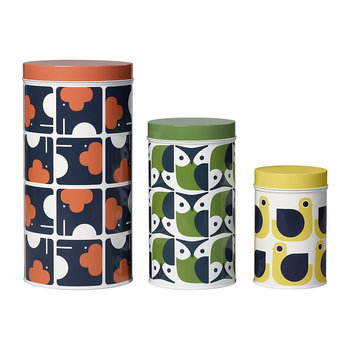 Assorted Storage Tins - Set of 3 - Animals
