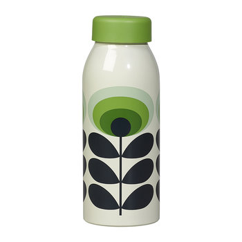 Bouteille Isolée - 500ml - 70s Green Flower Oval
