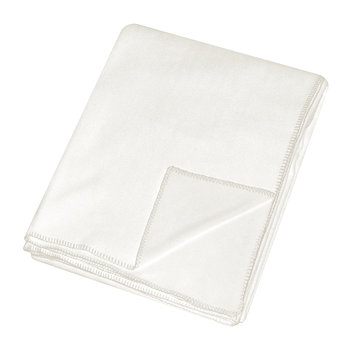 Soft Fleece Blanket - Off White