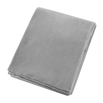 Soft Fleece Blanket - Light Grey