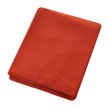 Large Soft Fleece Blanket - Dark Chili