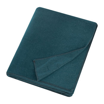 Large Soft Fleece Blanket - Dark Ocean