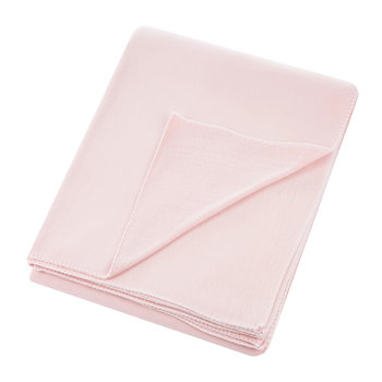 Large Soft Fleece Blanket - Dark Rose