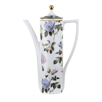 Rosie Lee Tall Beverage Pot - White