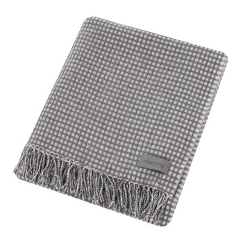 Mesh Throw - Medium Gray