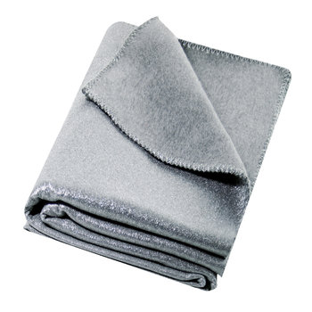 Soft Deluxe Blanket - Silver