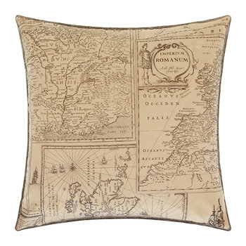 Bohemian Travels Velvet Pillow - 50x50cm