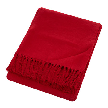 Cassis Red Throw - 140x180cm