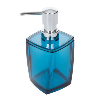 Acrylic Soap Dispenser - Blue