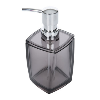 Acrylic Soap Dispenser - Grey