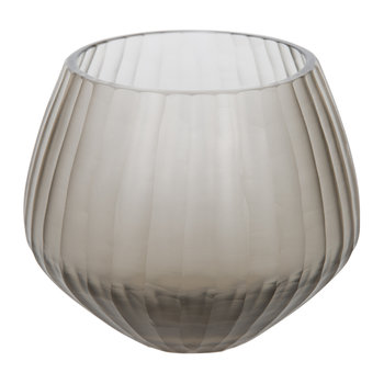 Frogmore Glass Votive - Smoke
