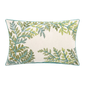 Trerice Leaves Cushion - 30x50cm