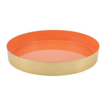 Carousel Tray - Gold/Orange
