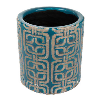 Jamboree Blue Pot - Tile