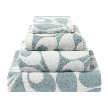 Acorn Cup Towel - Dark Duck Egg