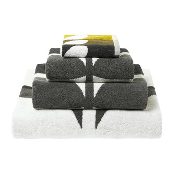 Large Stem Towel - Dark Duck Egg