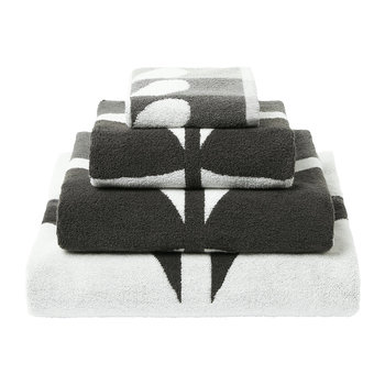 Large Stem Towel - Grey