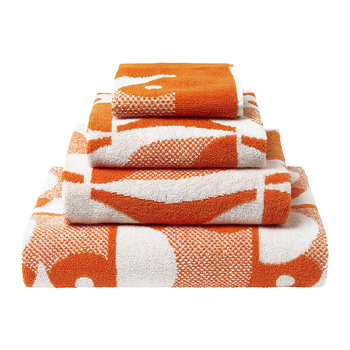 Owl Towel - Papaya