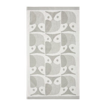 Owl Towel - Light Granite
